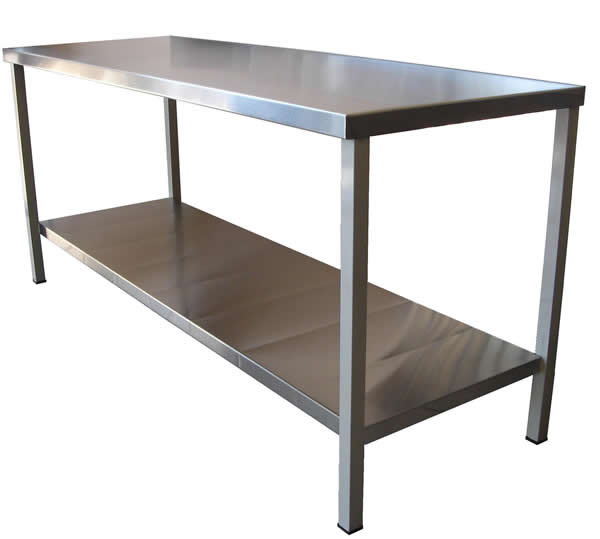 Moblinox equipo en acero inoxidable mesa de trabajo - Mesa de trabajo acero inoxidable ...